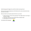 A message from Miss Bakin and the Rainbow Stars
