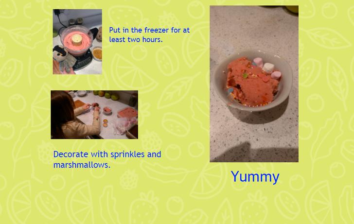 A yummy recipe by Lina!