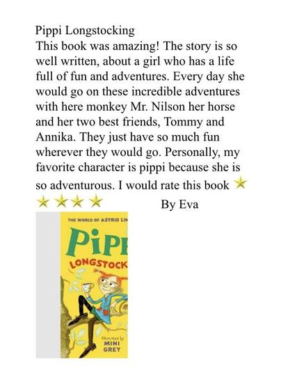 A wonderful book review by Eva