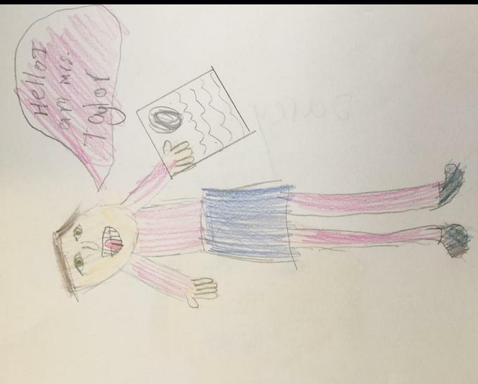 Mrs Taylor Teacher Nursery and DH by Darcy Y3