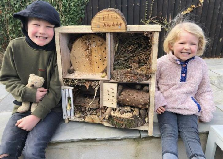 Wow! A beautiful home for all sorts of creatures! Well done!