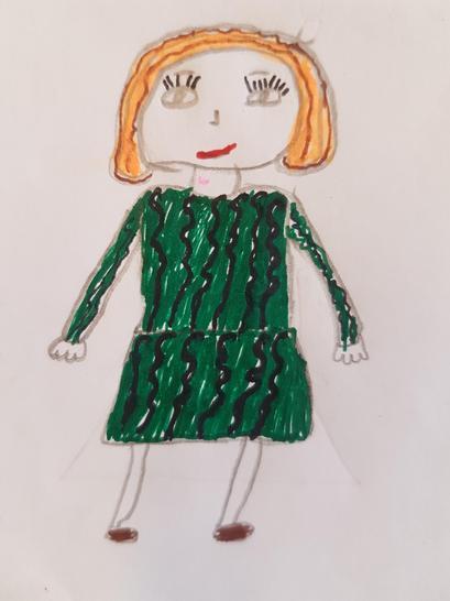 Mrs Hoksbergen Teacher Year 4 by Fatima Y4