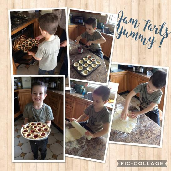 Do we have the next Jamie Oliver in Year 1 ?! Delicious jam tarts