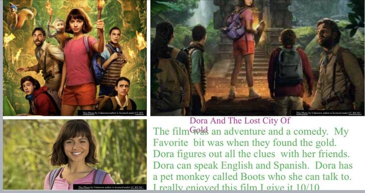 Maya has written a detailed review about the new Dora film!