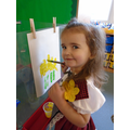 Painting Daffodils for our Art Gallery