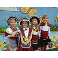 Look at our beautiful Welsh costumes.