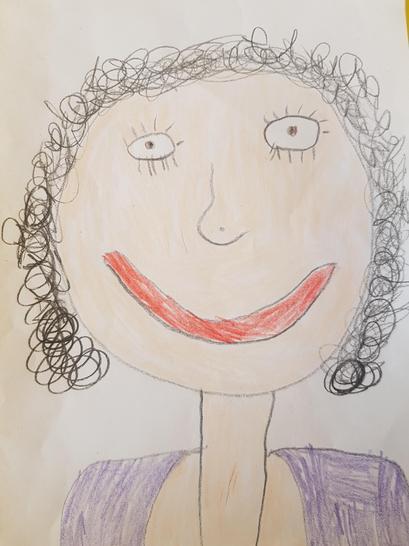 Mrs Evans Teacher Year 2/3 by Charlotte Y2