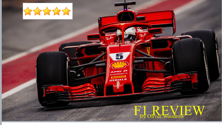 Ollie has written about his favourite thing to watch...F1!