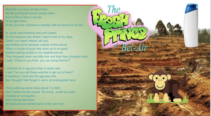 Tommy has written an Eco rap with a poignant message! It has the best tune too!