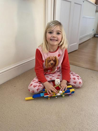 Well done, what an amazing Lego bridge!