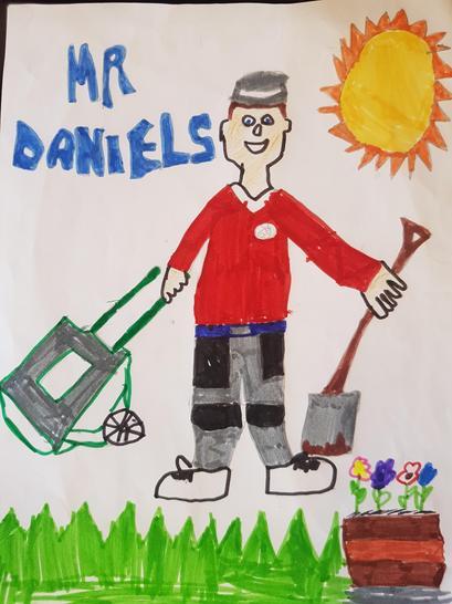 Mr Daniel Caretaker by Faith Y3