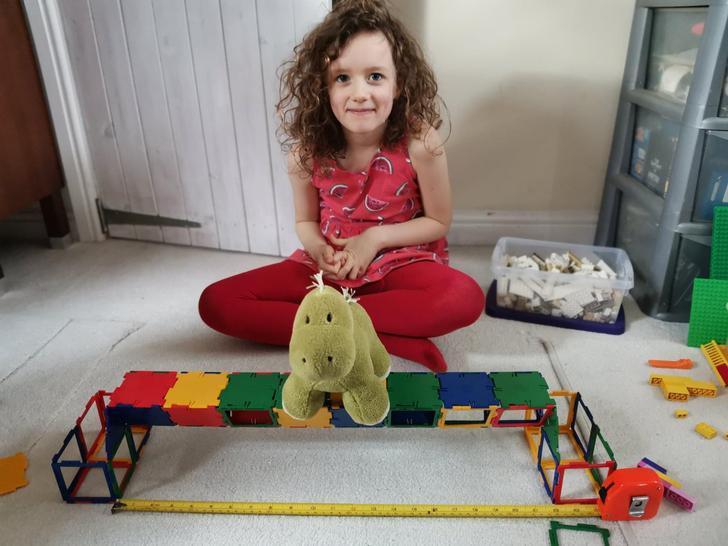 Look at this polydron bridge!