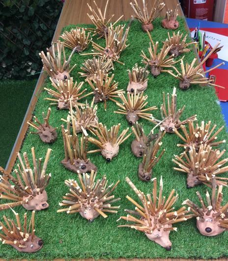 We made hedgehogs.🦔