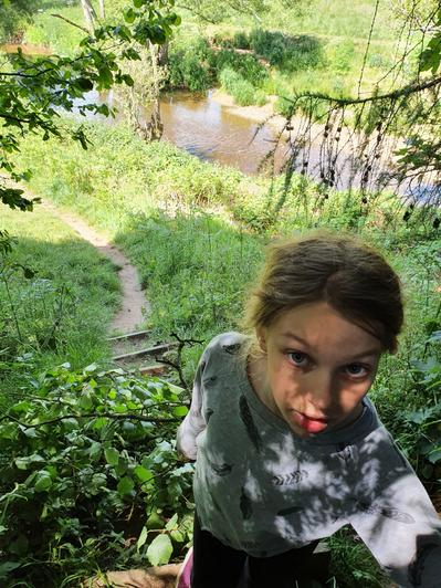 Phoebe has enjoyed some lovely family walks...