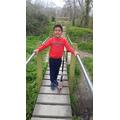 Ruben on a lovely walk.