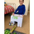 Coen and his zoo! Fab!