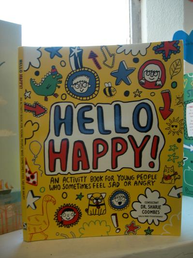 Activity book for when we feel sad or angry.