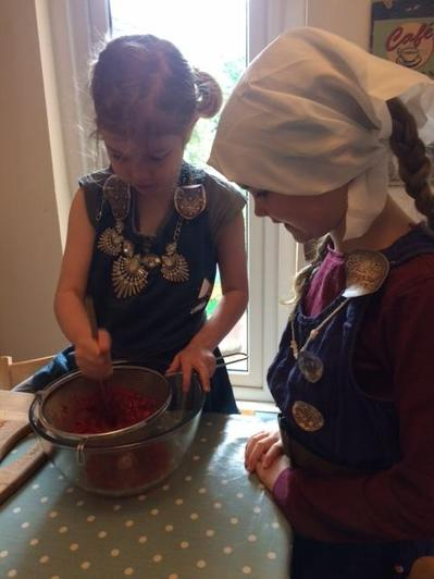 making a Viking Meal