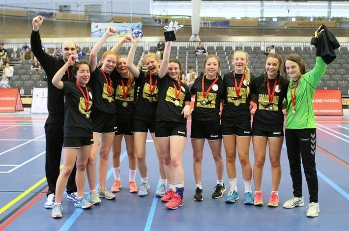 Stroud Handball U16 Team National Champions 2018
