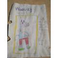 Martha made a FANTASTIC wanted poster!