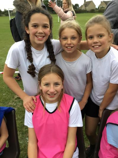 Year 6 girls - 2nd place BRILLIANT!