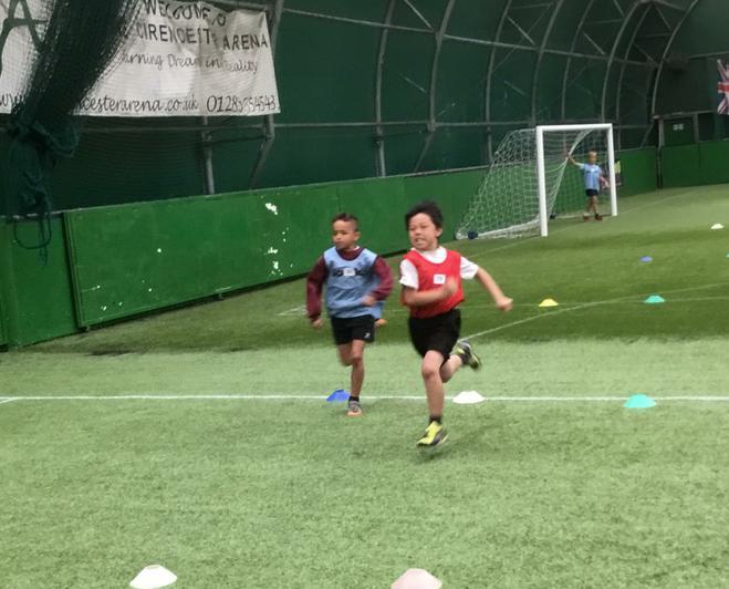 50m sprint
