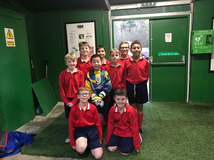 Year 5 Football Team