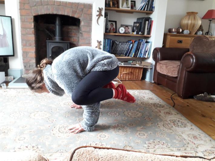 Yoga poses!