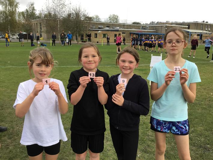 Year 4 girls - 1st place and what a team!!