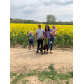 Easter walks with Alfie and family