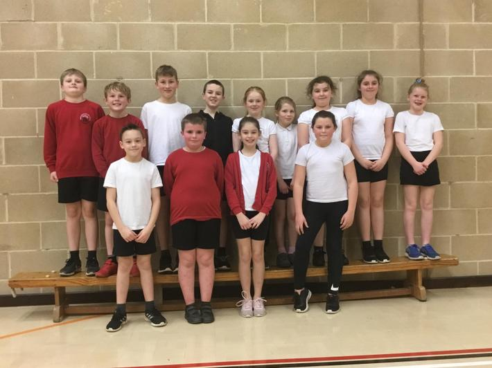 Year 5 Dodgeball Team