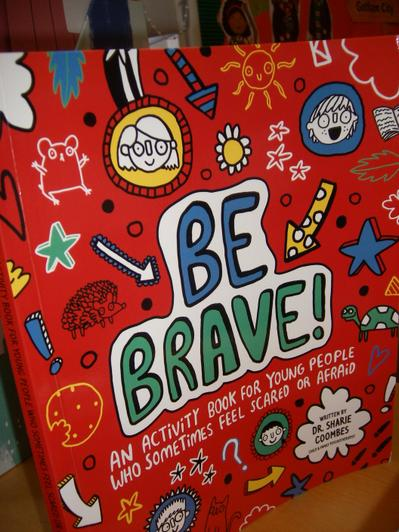 Activity book for when we feel scared or worried.