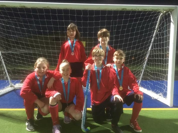 Team Red - 3rd place bronze medalists