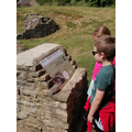Finding out about the Roman features there.