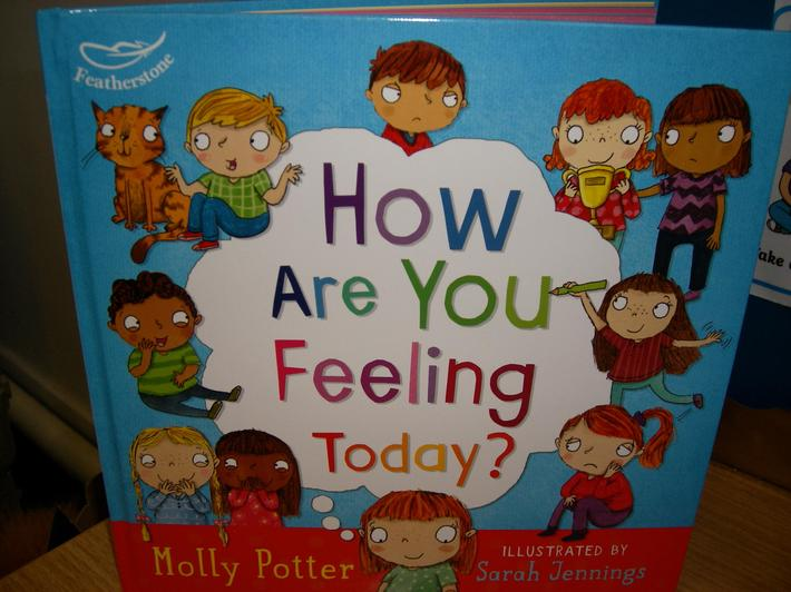 A book all about how we feel.