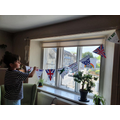 Batu's VE day bunting.