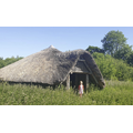 Sapphire found a replica iron age house
