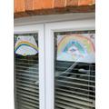 Coen has made a beautiful rainbow.