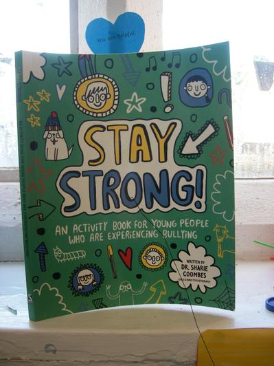 Activity book for when experience bullying.