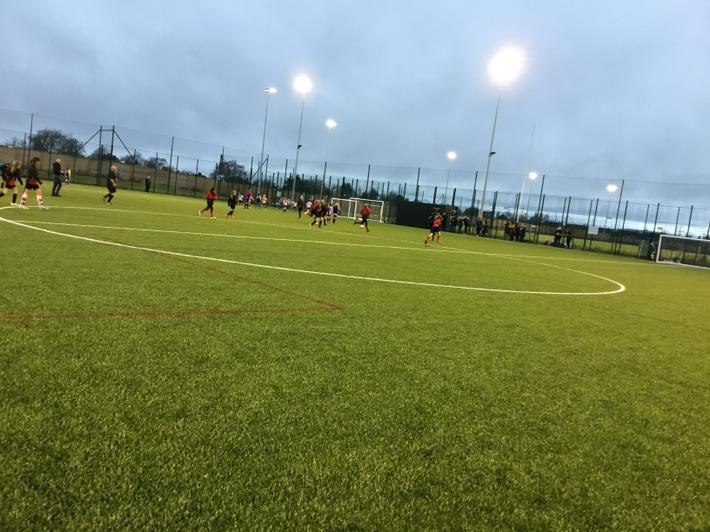 The brand new 3G pitches