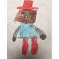 Esme drew this fabulous picture of Paddington.
