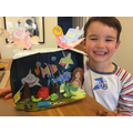 Coen and his underwater project!!