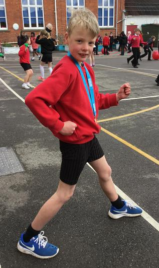 Third place for Jack - a brilliant result.