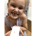 Summer lost a tooth!