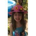 Lauren's fantastic Easter Bonnet.