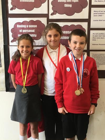 Great sporting achievements from outside school.