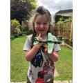 Sienna made a plane.