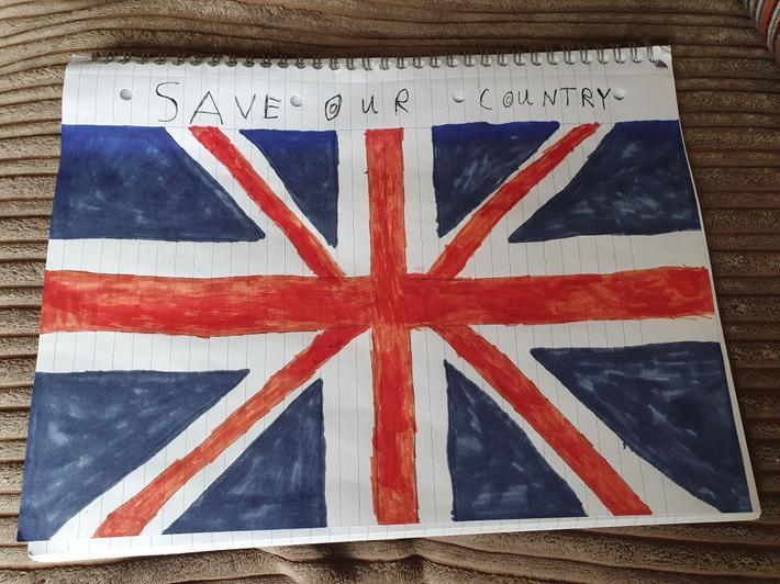 Caitlin C's Union flag