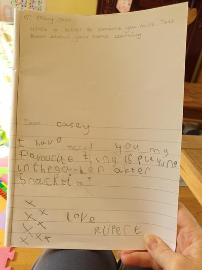Such a lovely letter xx