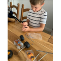 Ethan has build his own car!